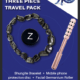 Three piece Travel pack