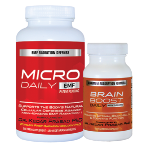 Micro Daily EMF and Brain Boost Combo 5GEMFProtect.com